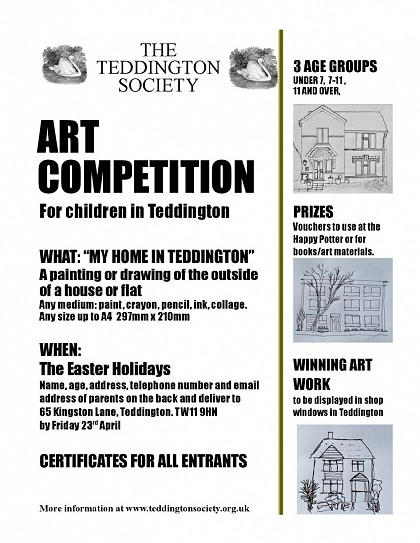 • Calling all children… it's art competition time!