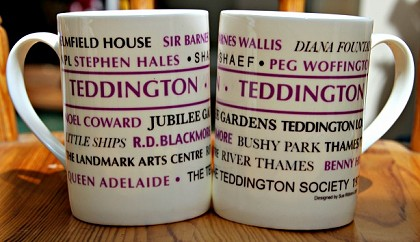 New Teddington Society Mug and Tea Towel
