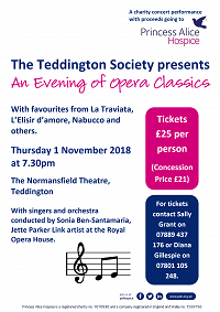 More opera favourites come to Teddington!