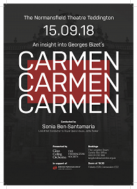 Carmen comes to Teddington!