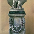Eagle on an altar base - Roman,1st century AD