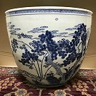 Goldfish tub, Chinese porcelain, c. 1730